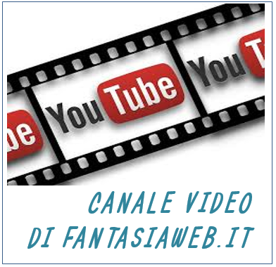 CANALE VIDEO YOUTUBE